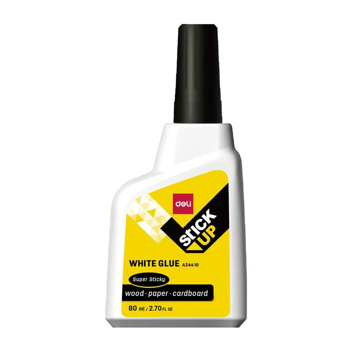 Deli Super Sticky White Glue 80ml EA24410