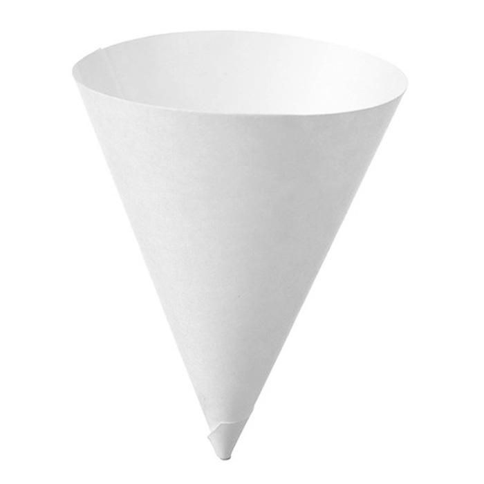 Disposable Paper Cone Cup 4oz Pack of 200 Pcs