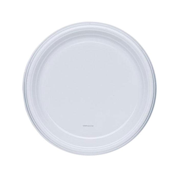 Disposable Plastic Plate 6 Inch Pack of 50