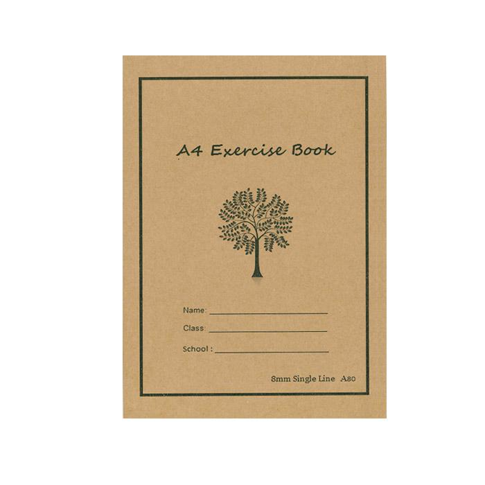 Soft Exercise Book Single Line A4 A80