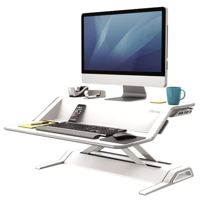Fellowes Sit Stand White 0009901