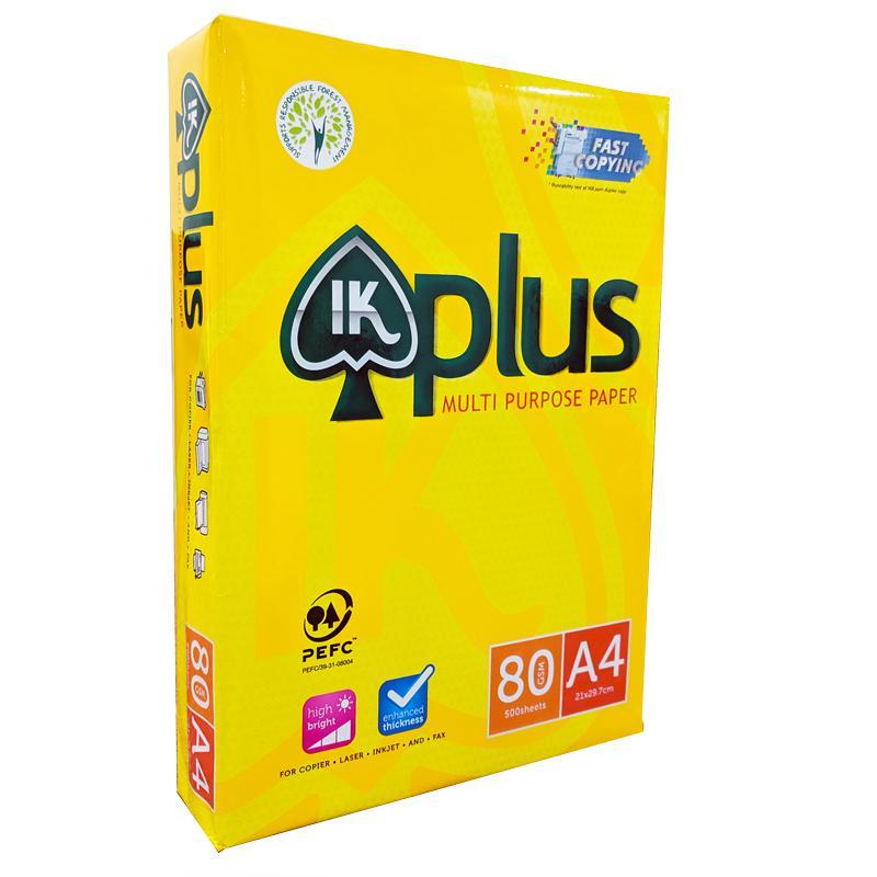 IK Plus Copier Paper 80gsm A4