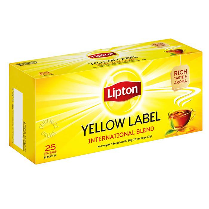 Lipton Yellow Label Teabags Box of 25