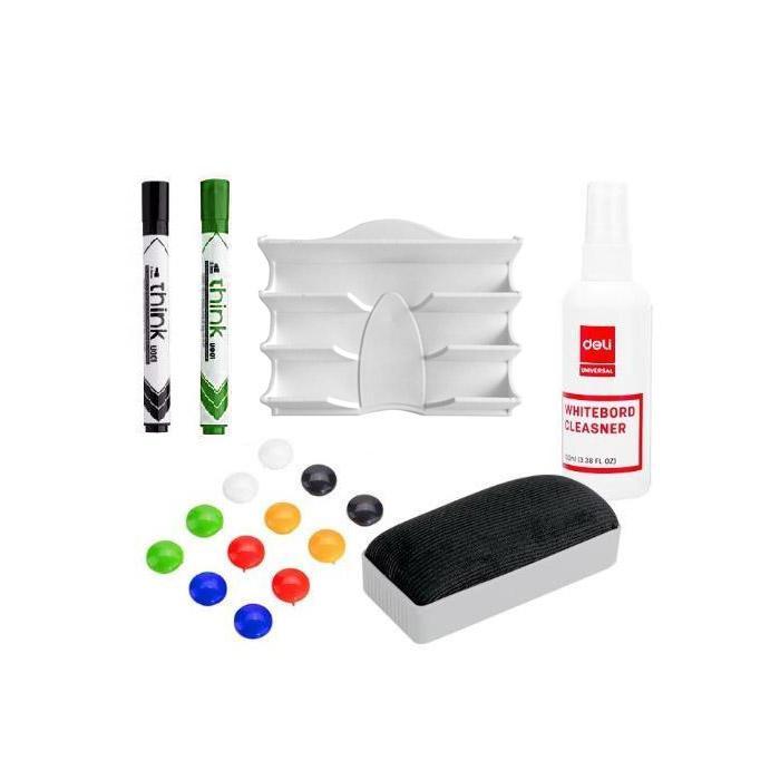 Whiteboard Marker Holder Accessory Kit Set B