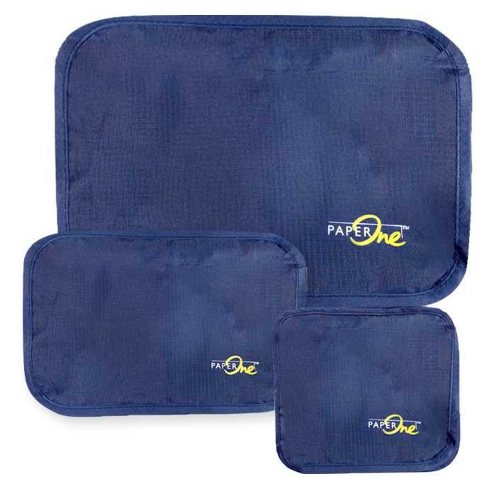 PaperOne 3 in 1 Netted Travel Organizer Zip Pouch