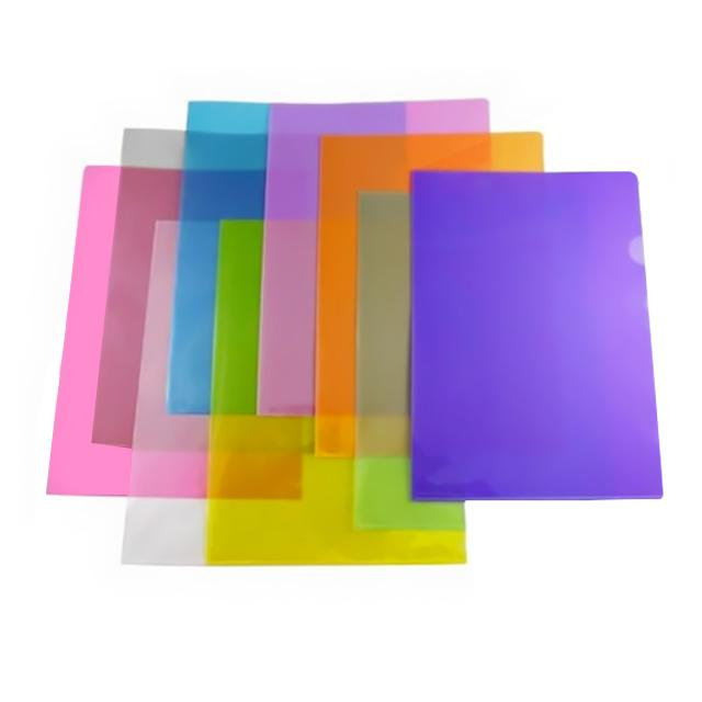 Plastic L Shape Folder A4