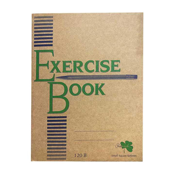 Soft Exercise Book Small Square 6mm 120B/80P