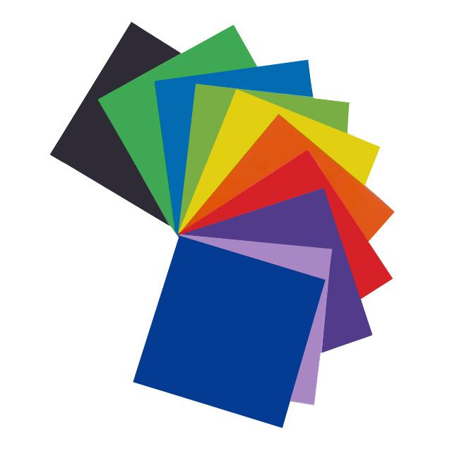 Square Colour Paper Pack of 40