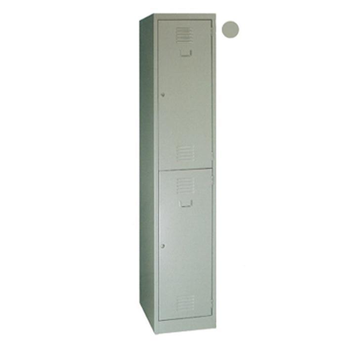 Super 5 Lockers 2 LK-93A (L45.7 x W38 x H183cm) Grey