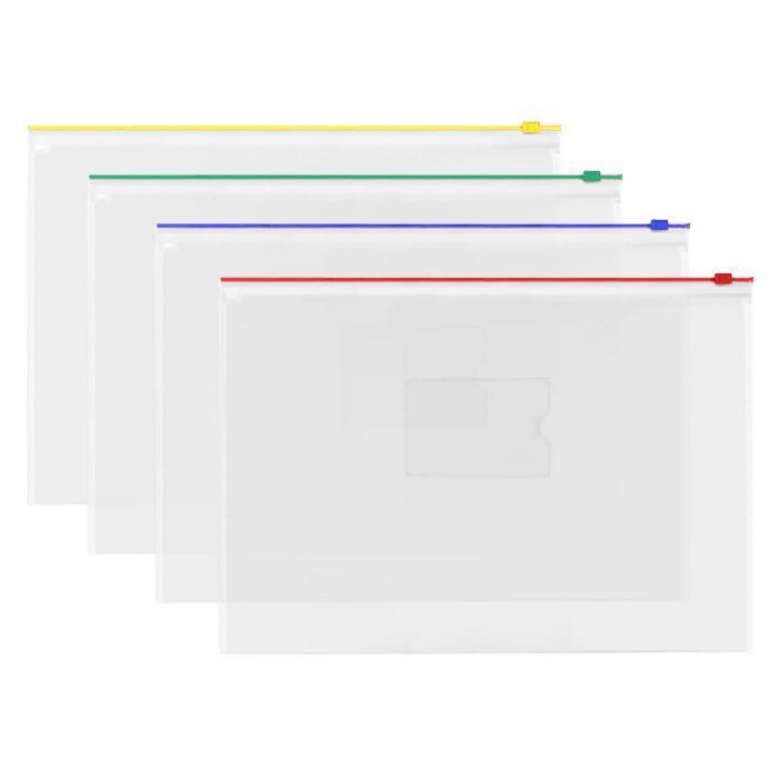 Transparent Zipbag Data Envelope A3