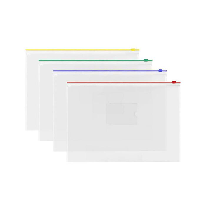 Transparent Zipbag Data Envelope B5