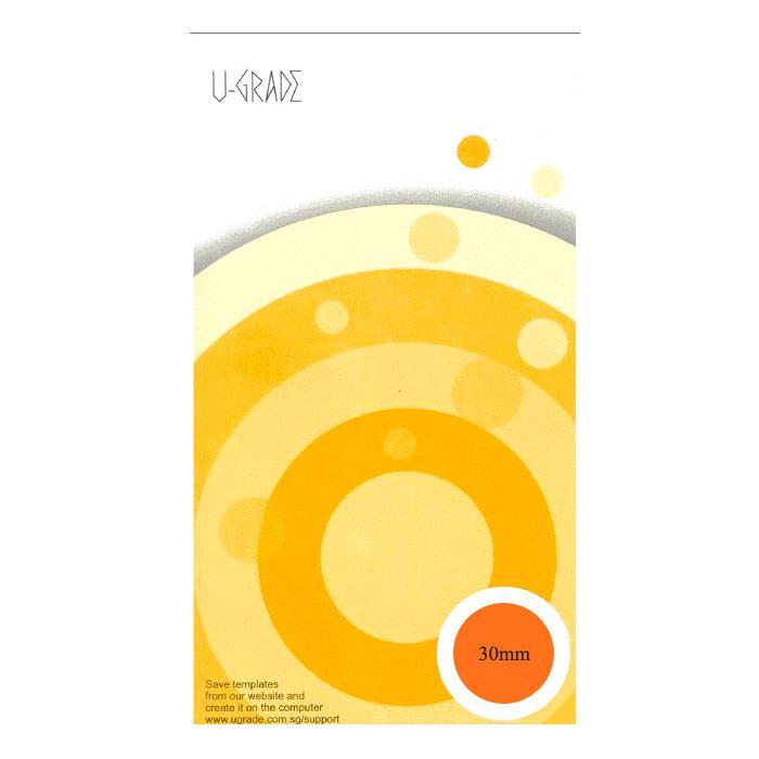 U-Grade Round Labels 30mm