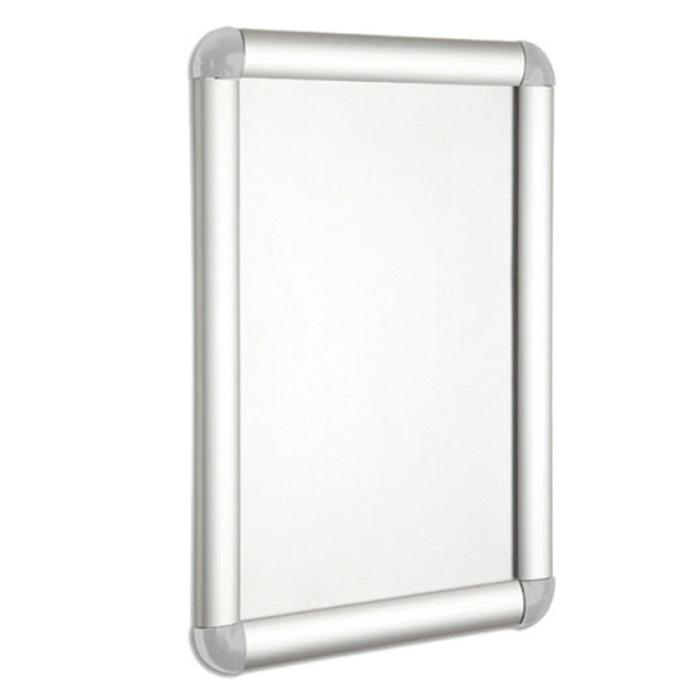 Wall Mounted Snap Frame Silver A1 Size WPA1