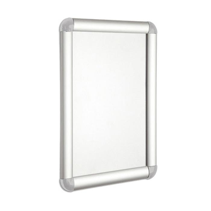 Wall Mounted Snap Frame Silver A2 Size WPA2