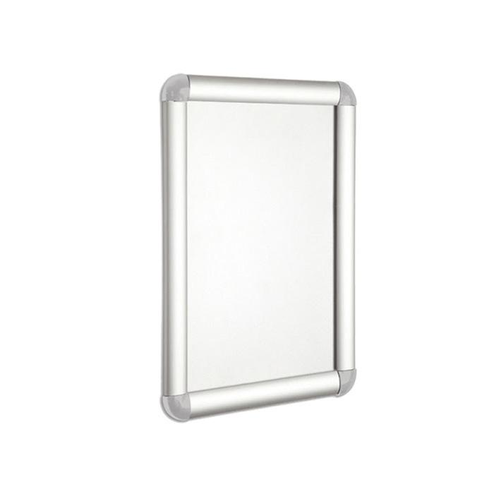 Wall Mounted Snap Frame Silver A4 Size WPA4