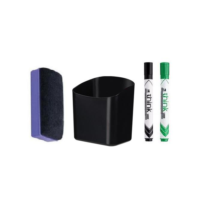 Whiteboard Marker Holder Accessory Kit Set A