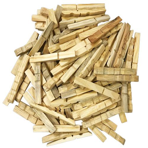 Wooden Pegs Plain Pack of 100